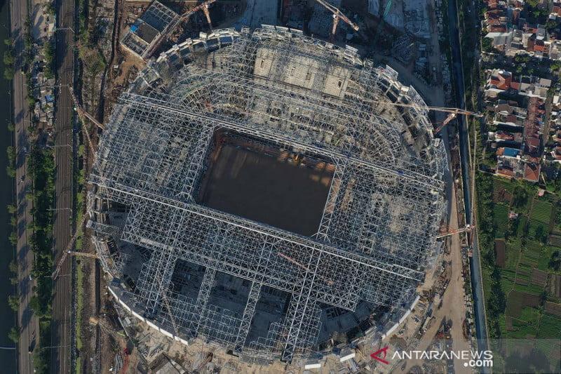 antarafoto pembangunan jakarta international stadium 170921 hma 2